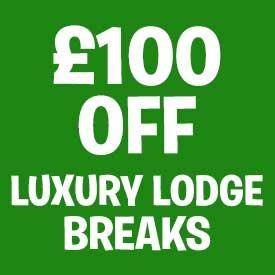 £100 off selected Lodge breaks
