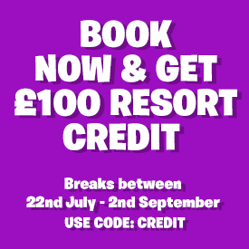 £100 Resort Credit with Meadow View Lodge Breaks this Summer