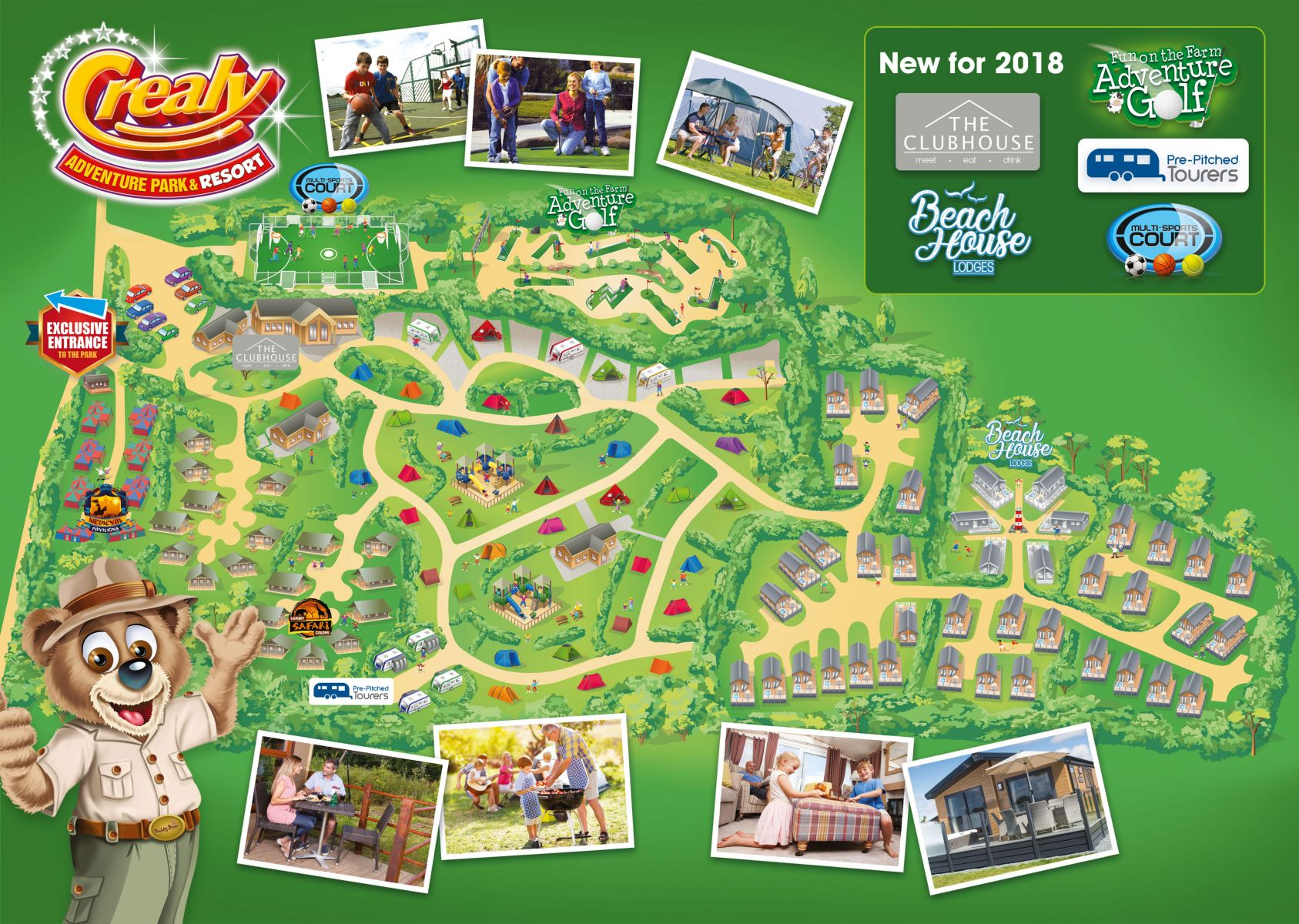 Crealy Adventure Park & Resort Map