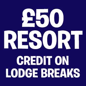 Receive £50 Resort Credit with Buddy Explorer Lodge breaks