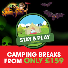 Spook-Fest Stay & Play Camping from £159