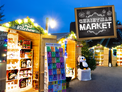 Christmas Market in Exeter