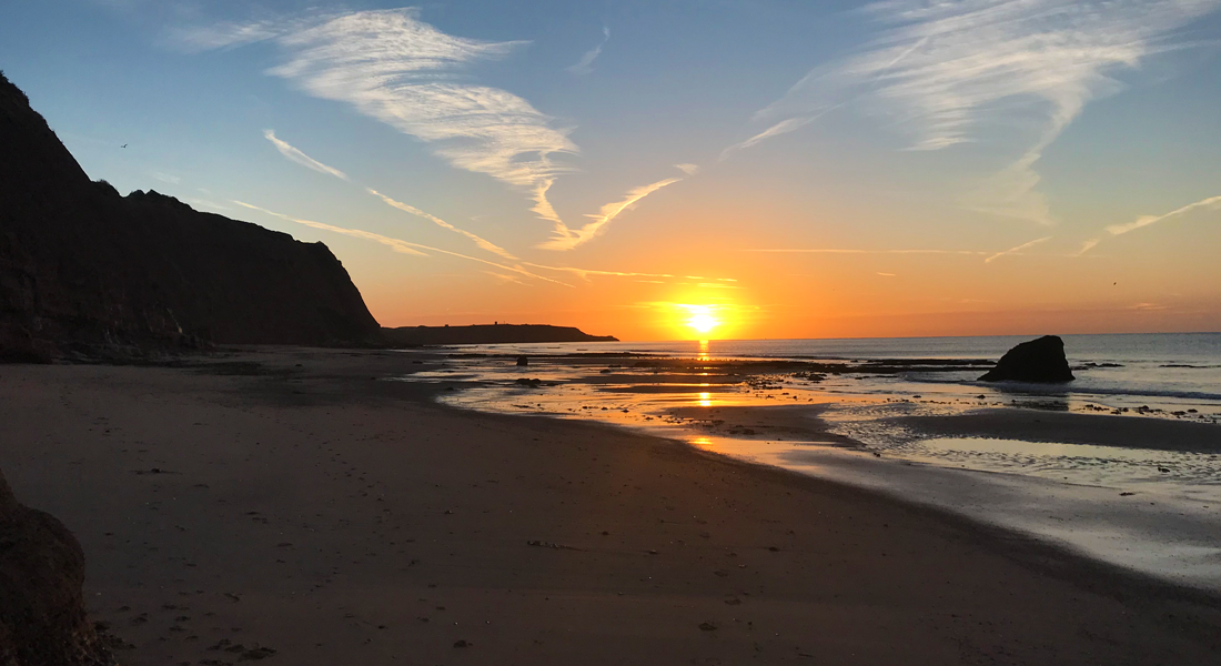 Sunrise in Exmouth