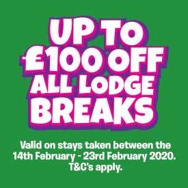 Up to £100 off Lodge breaks this Feb Half Term