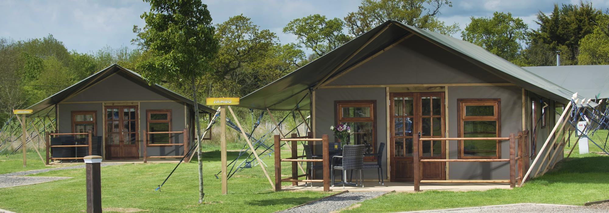 Glamping Tents in Devon