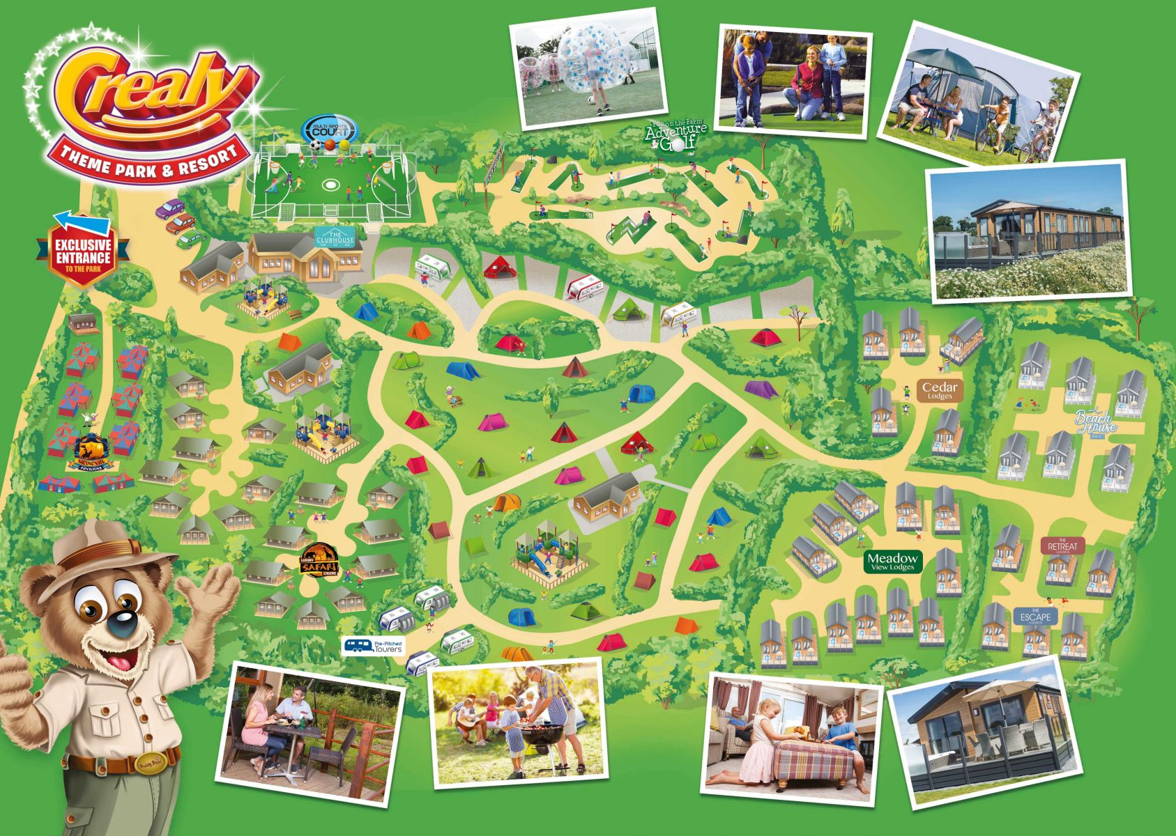 Crealy Adventure Park & Resort Map