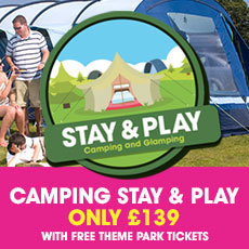 Stay & Play Camping weekends in September and October Special
