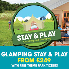 Stay & Play Glamping September and October Special