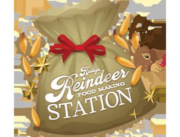 Rudy's Reindeer Food Making Station