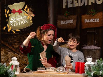 Reindeer Food Making Station