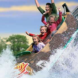 Tidal Wave Log Flume
