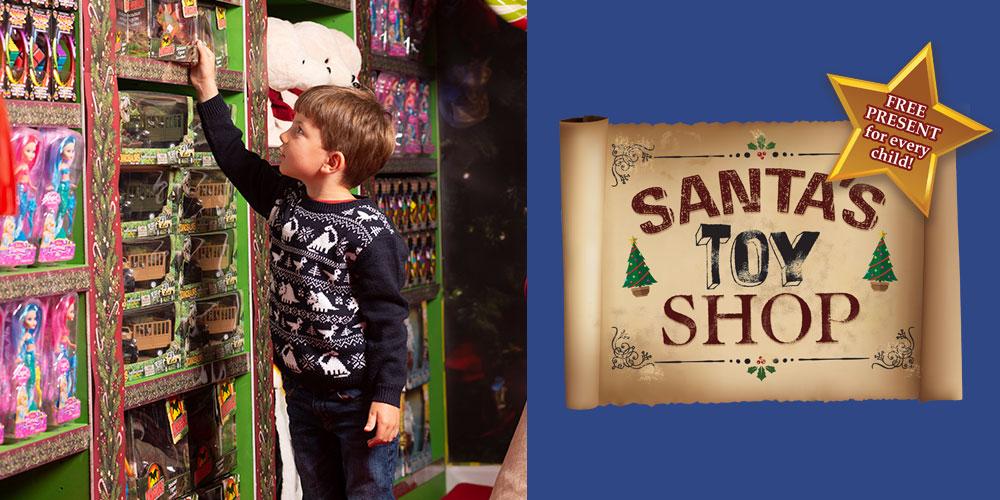 Santa's Toy Shop at Crealy Christmas