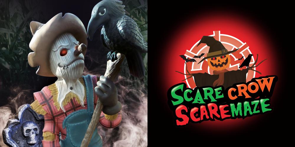 Crealy Spook Fest Scare Crow Scare Maze