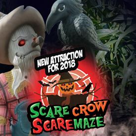 NEW Scarecrow Scaremaze