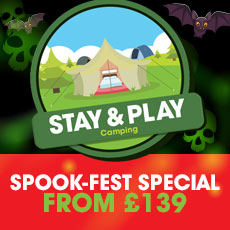 Spook-Fest Stay & Play Camping special!