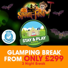 Spook-Fest Stay & Play Glamping special!