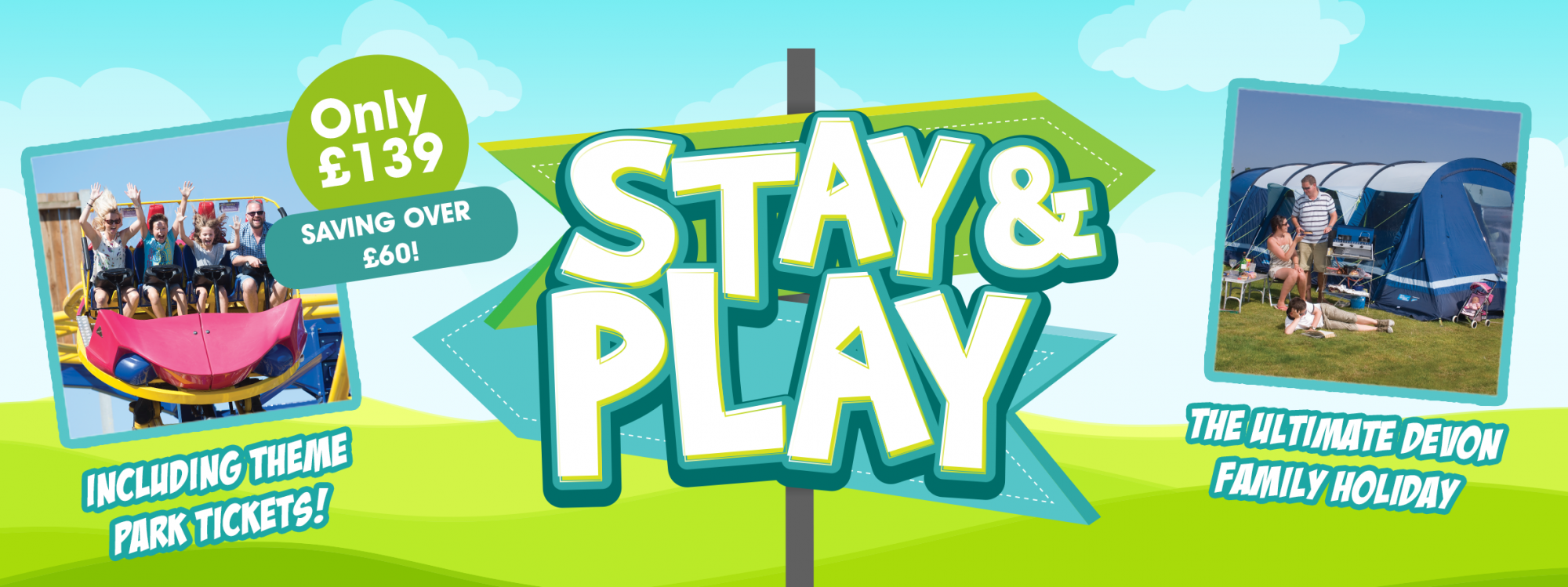 Stay and Play at Crealy