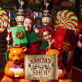 Santa's Magical Toy Store