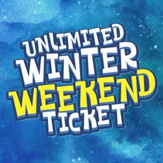 £35 Unlimited Winter weekend Ticket