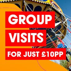Book the ultimate group visit for just £10 per person