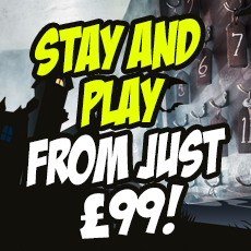 Halloween Stay & Play from £99