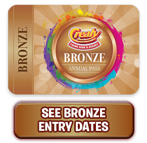Crealy Annual Passes - Bronze
