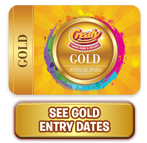 Crealy Annual Passes - Gold