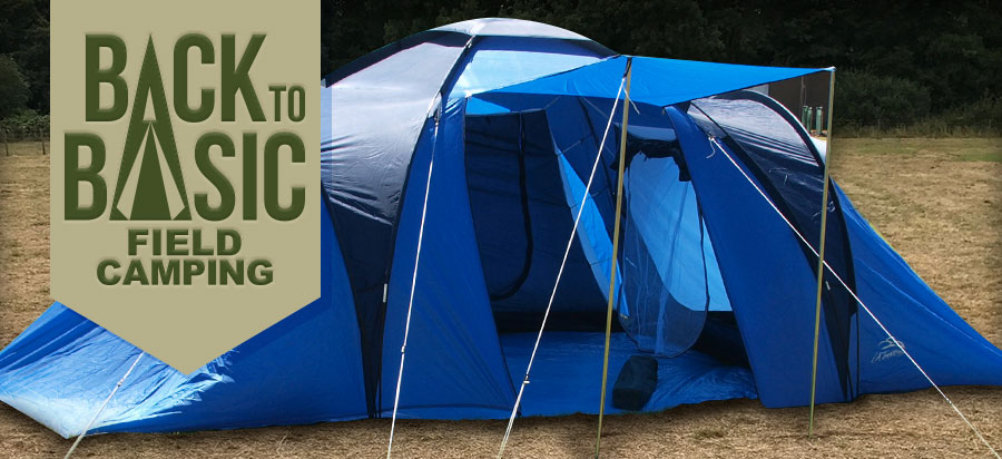 'Back to Basic' field camping