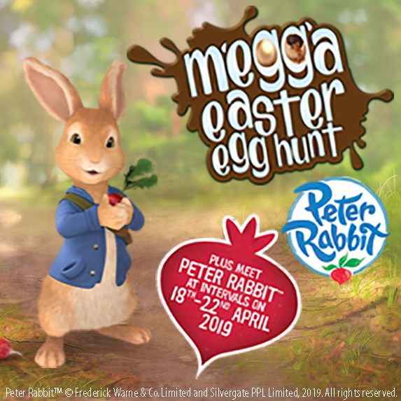 Megga Easter Egg Hunt - PLUS MEET Peter Rabbit™!