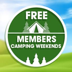 FREE Member's Camping Weekend