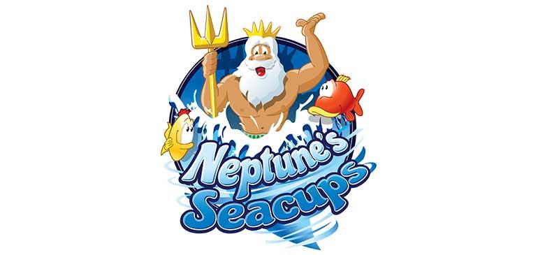 Neptune's Sea Cups Logo