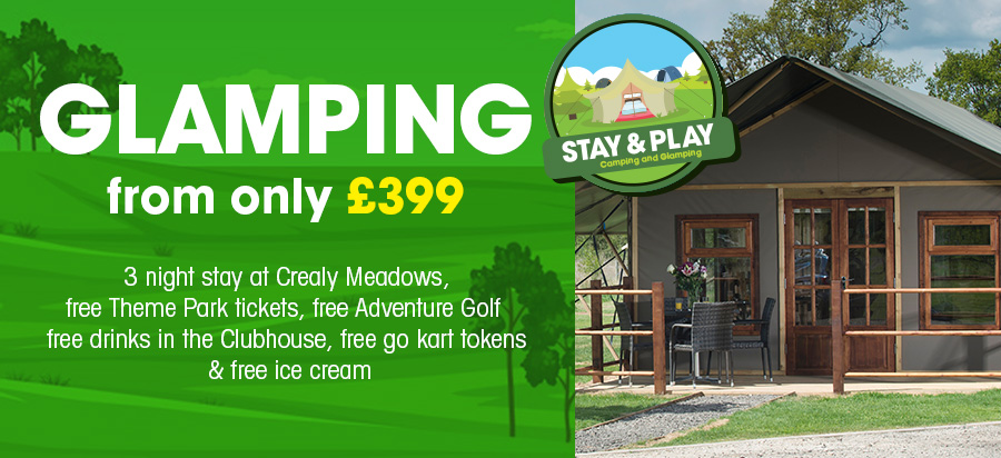 2021 Glamping Stay & Play packages