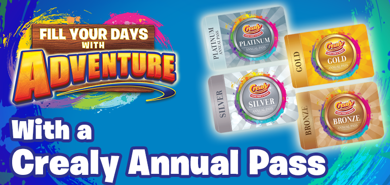 Become an Annual Pass holder at Crealy Theme Park